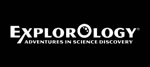 Explorology White Logo